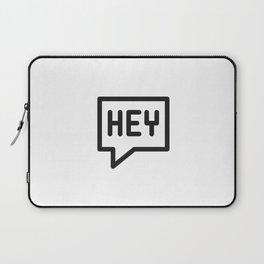 Hey, hello, bonjour! Laptop Sleeve