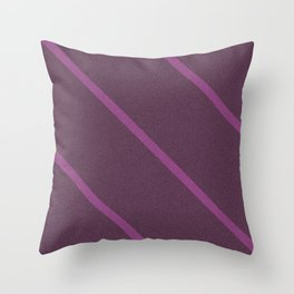Orchid Striped Lines Throw Pillow