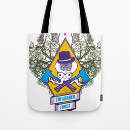 THEKRAKEN FOREST Tote Bag