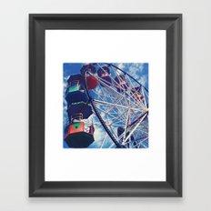 Big Wheel Ferris Wheel Framed Art Print
