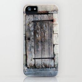 French Door Series, #5 - Richelieu, France iPhone Case