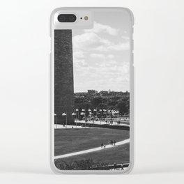 Washington's Shadow Clear iPhone Case