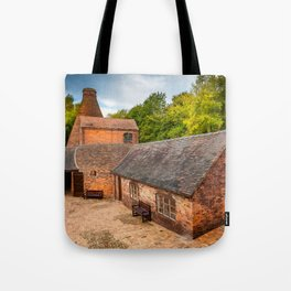 Bottle Kiln Coalport Tote Bag