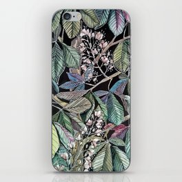 Chestnut tree blooming iPhone Skin