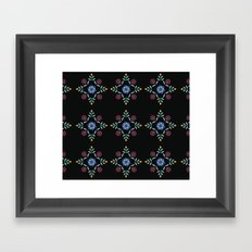 Floral Pattern 2 Framed Art Print