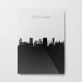 City Skylines: Birmingham Metal Print