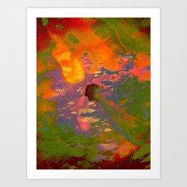Colour on Colour on Coloursplash Art Print