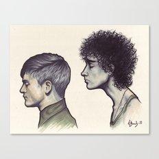 Simon & Nathan Canvas Print