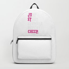 Just Cheer Cheering Squad Backpack