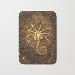 Facehugger (Sepia) Bath Mat