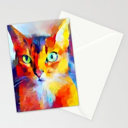 Abyssinian Cat Stationery Cards