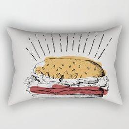 WHERE'S THE BEEF Rectangular Pillow