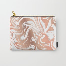 Liquid Copper Marble 029 Carry-All Pouch