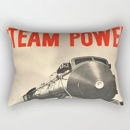 Steam Power Rectangular Pillow