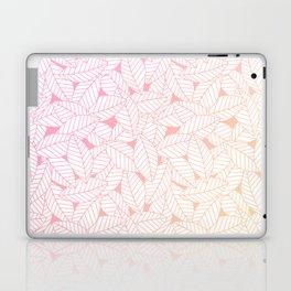 Leaves in Sunset Laptop & iPad Skin