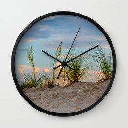 Beach Grass Sand Print Gifts Wall Clock
