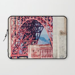 Building Under the Bridge Laptop Sleeve