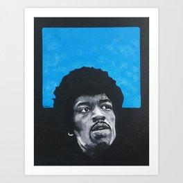 XXVII Jimi Art Print