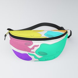 Colorful kittens Fanny Pack