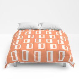 Chad Pattern Orange 22 Comforters