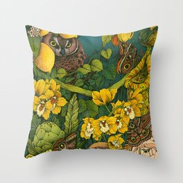 Aureate Throw Pillow