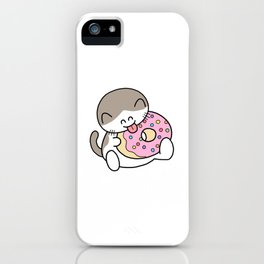 Donut Licker iPhone Case