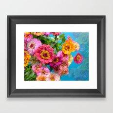 Happy Hurricane Framed Art Print