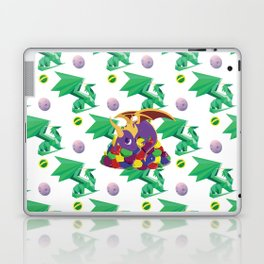 Paws Off Moneybags! Laptop & iPad Skin