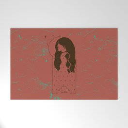 Moon Maiden in Adobe Welcome Mat
