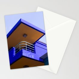 majorelle house Stationery Cards