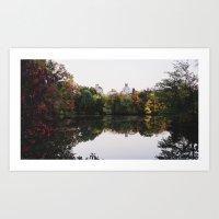 Central Park Fall Series 2 Art Print