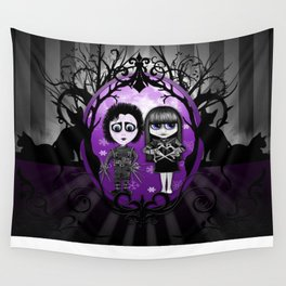 Edward and Emily  Wall Tapestry