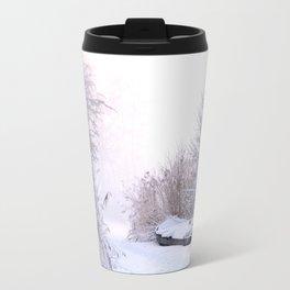 Snowy Landscape Travel Mug