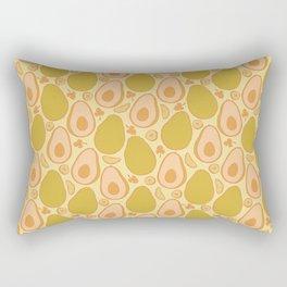 Avocado Sunset Rectangular Pillow