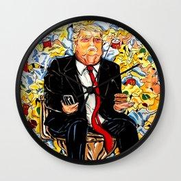 Trump Portrait Wall Clock