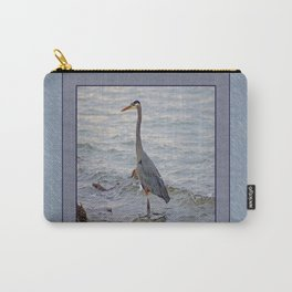 still here wading (square) Carry-All Pouch