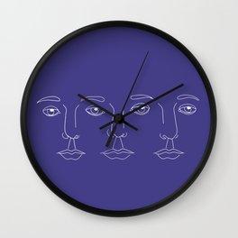 L'amour à trois Wall Clock