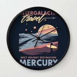Intergalactic Travel Wall Clock