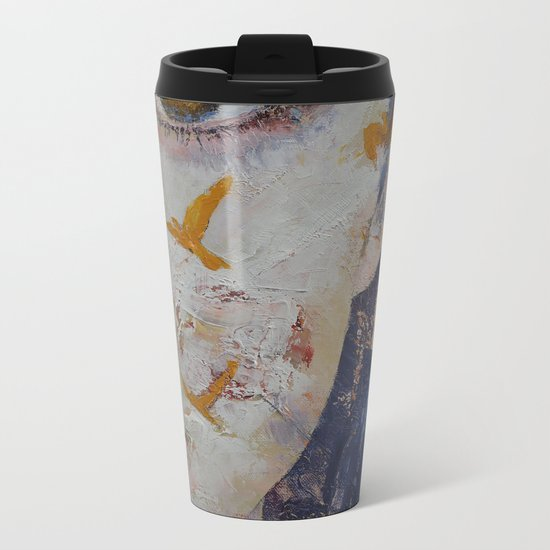 Geisha Metal Travel Mug