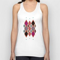 bohemian Tank Tops featuring bohemian by spinL
