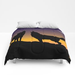 Howl Together Comforters