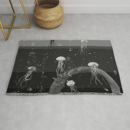 Where the jellyfish are Rug