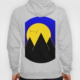 Pyramids in the night - Vector Hoody
