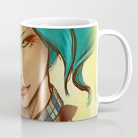 monroe Mugs featuring Monroe by Nurt