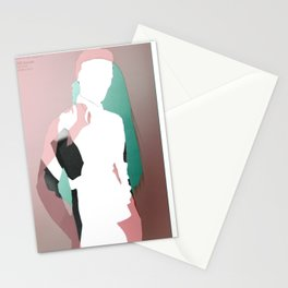 The silhouette's dream Stationery Cards