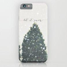 let it snow Slim Case iPhone 6