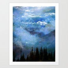 Amazing Nature - Mountains 2 Art Print