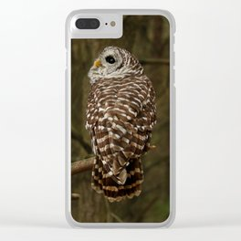 I hear the forest growing Clear iPhone Case