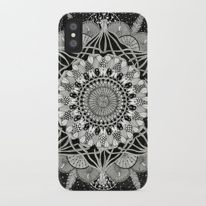 Fins + Feathers iPhone Case