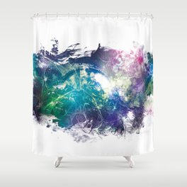 Conscious Wire Shower Curtain